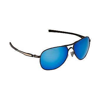 Best SEEK Polarized Replacement Lenses for Oakley PLAINTIFF Gold Blue Mirror