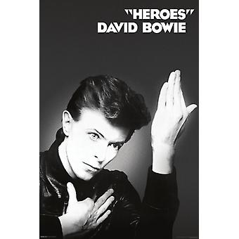 David Bowie - Heroes Poster Print (24 x 36)