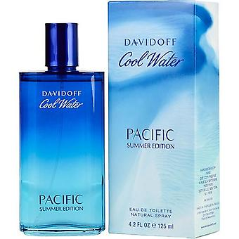 Cool Water Pacific Summer By Davidoff Edt Spray 4.2 Oz (Limited Edition 2017)