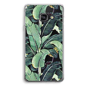 Samsung A3 (2017) Transparent Case (Soft) - Banana leaves