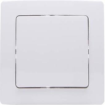 Free Control Wireless wall-mounted switch PARIS 1/2 2-channel Arctic white