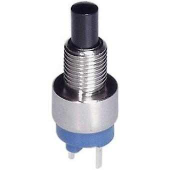 Pushbutton 30 Vdc 0.1 A 1 x Off/(On) APEM 9633NCD