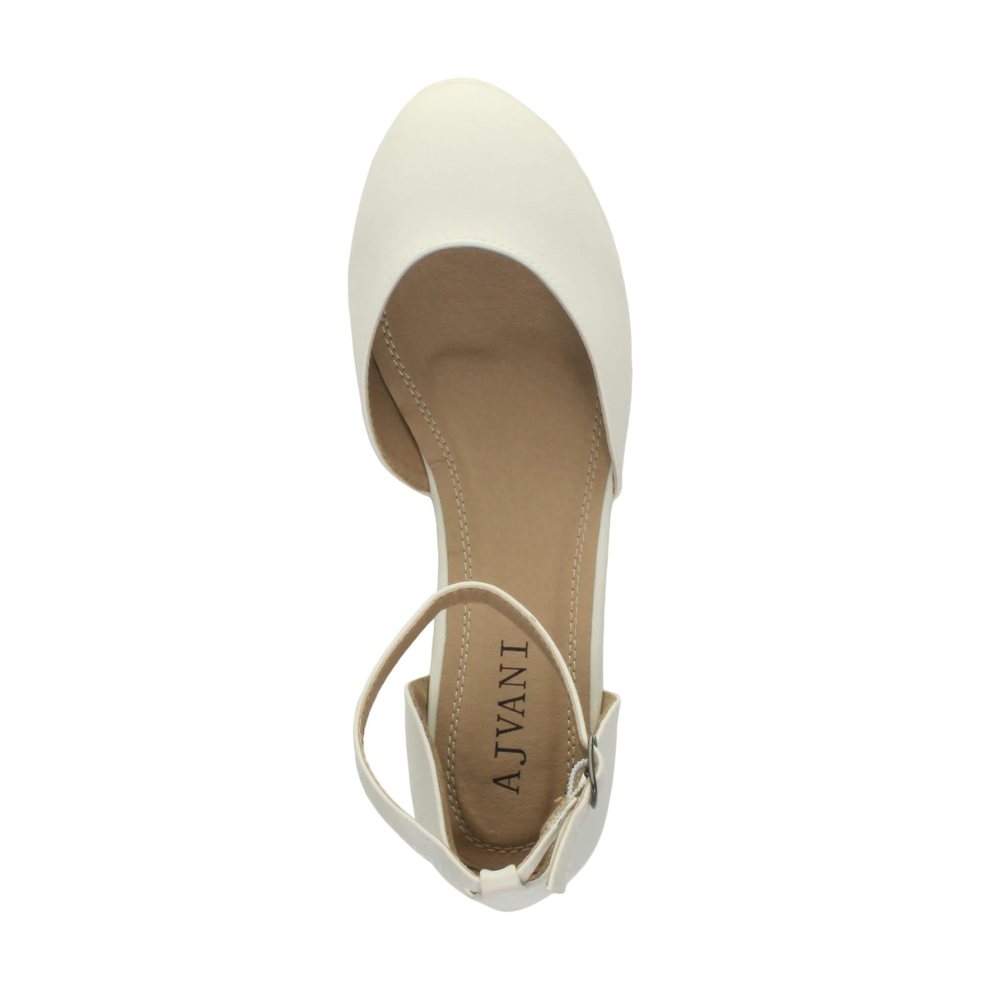 low flatform ankle sandals shoes womens Ajvani mid wedge strap platform court fInqWgwE
