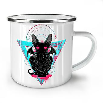 Evil Satan Animal NEW WhiteTea Coffee Enamel Mug10 oz | Wellcoda