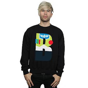 Disney Men's Alphabet B Is For Buzz Lightyear Sweatshirt