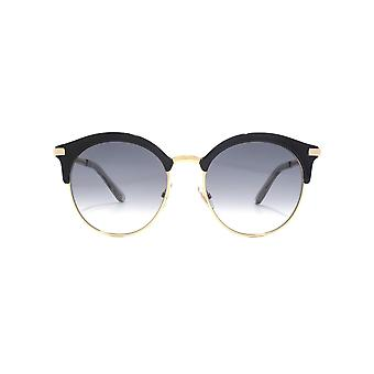 Jimmy Choo Hally Sunglasses In Black
