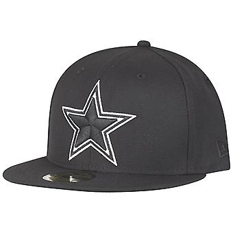 New era 59Fifty Fitted Cap - Dallas Cowboys black / white