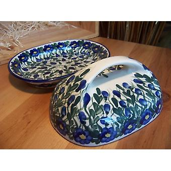 Butter dish, 44, polonaise poterie, 2nd choice - BSN 1253