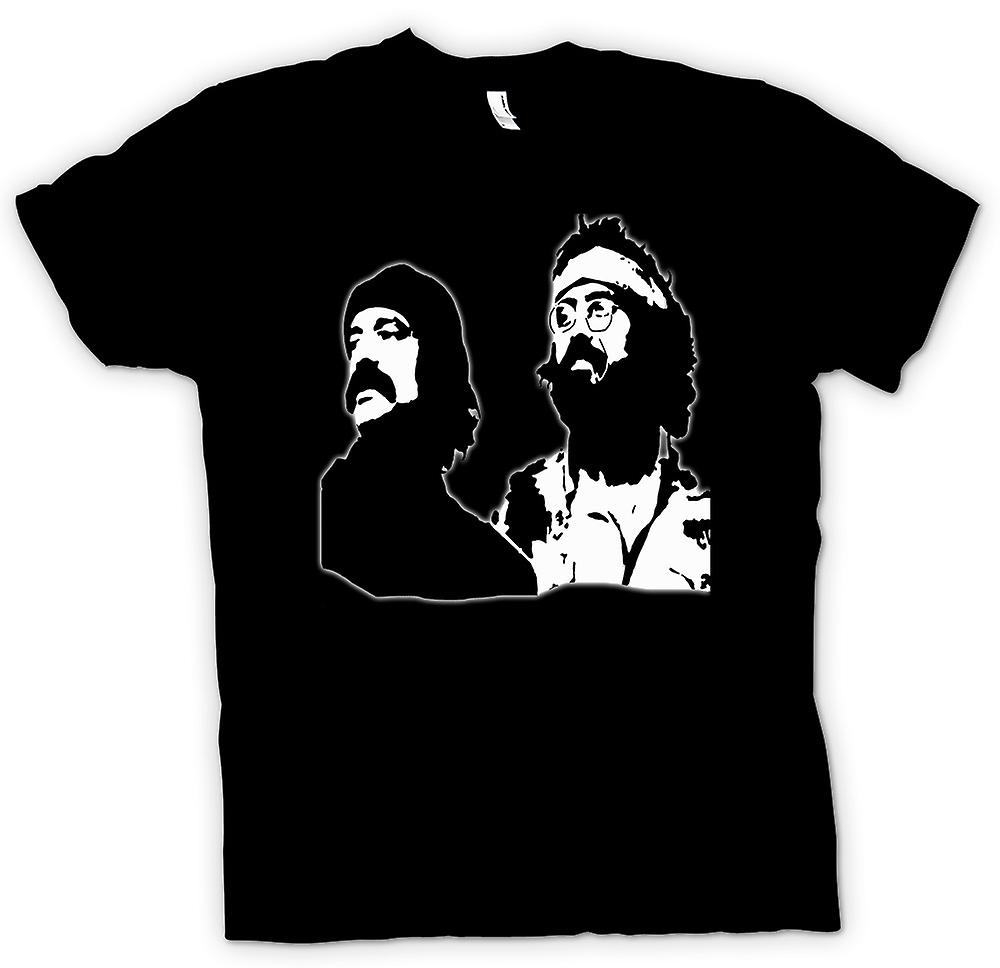 Womens T-shirt-Cheech och Chong