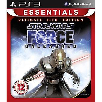 Star Wars Force Unleashed - The Ultimate Sith (PS3)