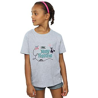 Disney Girls Mary Poppins Logo T-Shirt