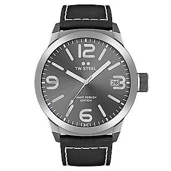 TW steel mens watch Marc Coblen Edition TWMC46 wrist watch leather band