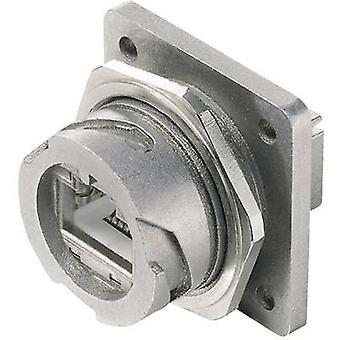 Brida de STX V 1 RJ45 set metal versión 1 conector, montaje número de pernos: 8P8C J80020A0001 Metal Telegärtner J80020A0001 1 PC