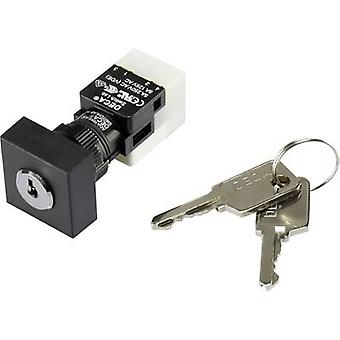 DECA ADA16K6-AA0-DC Key switch 250 V AC 5 A 1 x Off/On 1 x 90 ° IP65 1 pc(s)