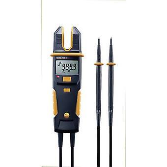 testo 755-2 Handheld multimeter, Clamp meter Digital Calibrated to: Manufacturers standards (no certificate) CAT IV 600 V, CAT III 1000 V Display (counts): 4000
