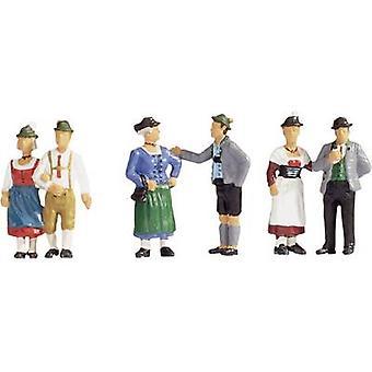 Gente de NOCH 15578 H0 figuras en vestido