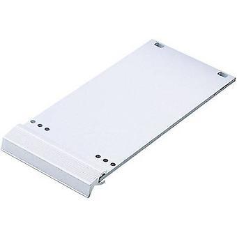 Frontplaten Aluminium sølv (matt, eloksert) 10132091 1 eller flere PCer