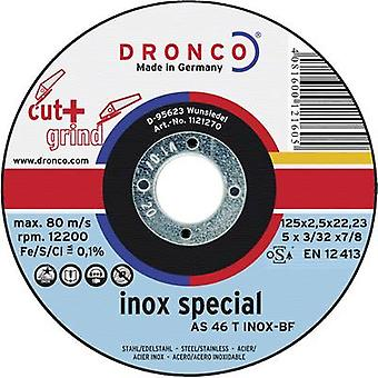 Cutting and grinding disc 125 mm 22.23 mm Dronco AS 46 INOX 1123270-100 1 pc(s)