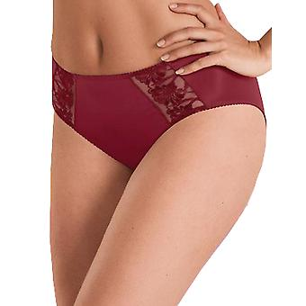 Anita 1451-526 Women's Comfort Safina Kir Royal Red Floral Embroidered Knickers Panty Brief