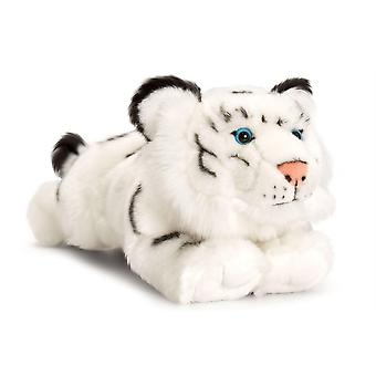 Keel Toys Laying White Tiger