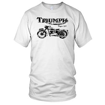 Triumph 100 Tiger Classic Bike Kids T Shirt
