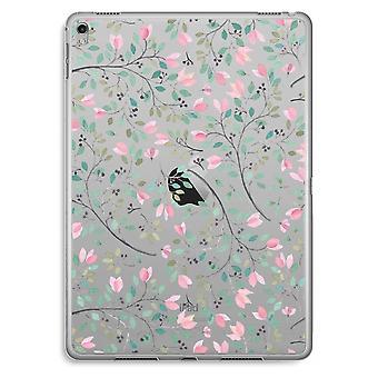 iPad Pro 9,7 pulgadas caja transparente (suave) - flores delicadas