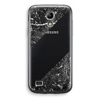 Samsung Galaxy S4 Mini przezroczysty - czarny marmur