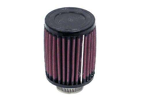 K&N RU-0070 Universal Clamp-On Air Filter  Round Straight; 1.25 in (32 mm) Flange ID; 4 in (102 mm) Height; 3 in (76 mm)
