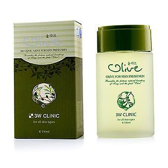 3w Clinic Olive For Man - Fresh Skin - 150ml/5oz