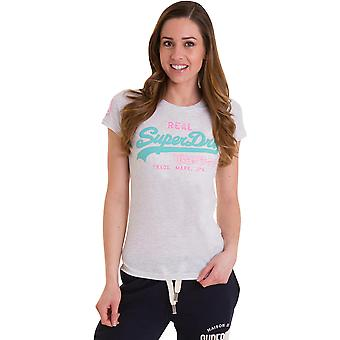 Superdry Women's Vintage Logo Duo Entry T-Shirt
