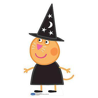 Candy Cat de Peppa Pig Halloween cartulina recorte / pie