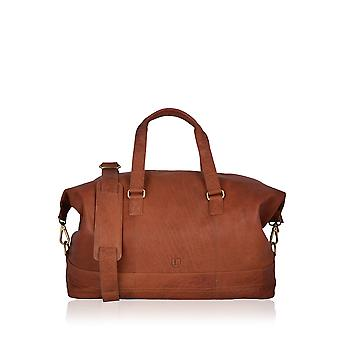 Keswick Leather Holdall in Tan