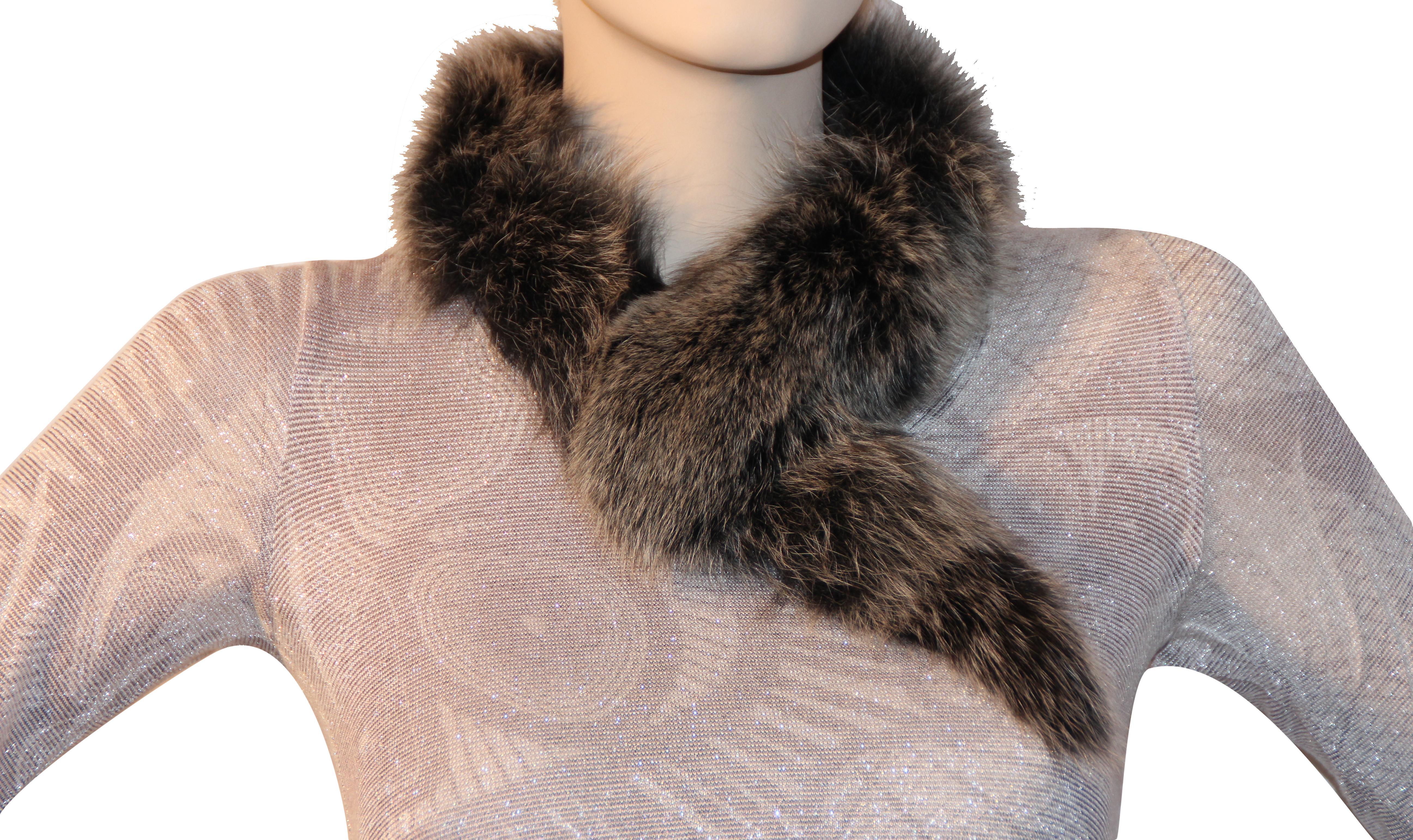 Waooh - Fashion - fox fur scarf