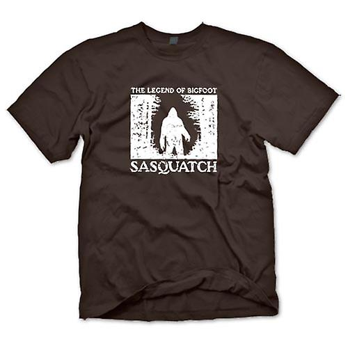 Herr T-shirt - Sasquatch Yeti Bigfoot observation - Kryptozoologi