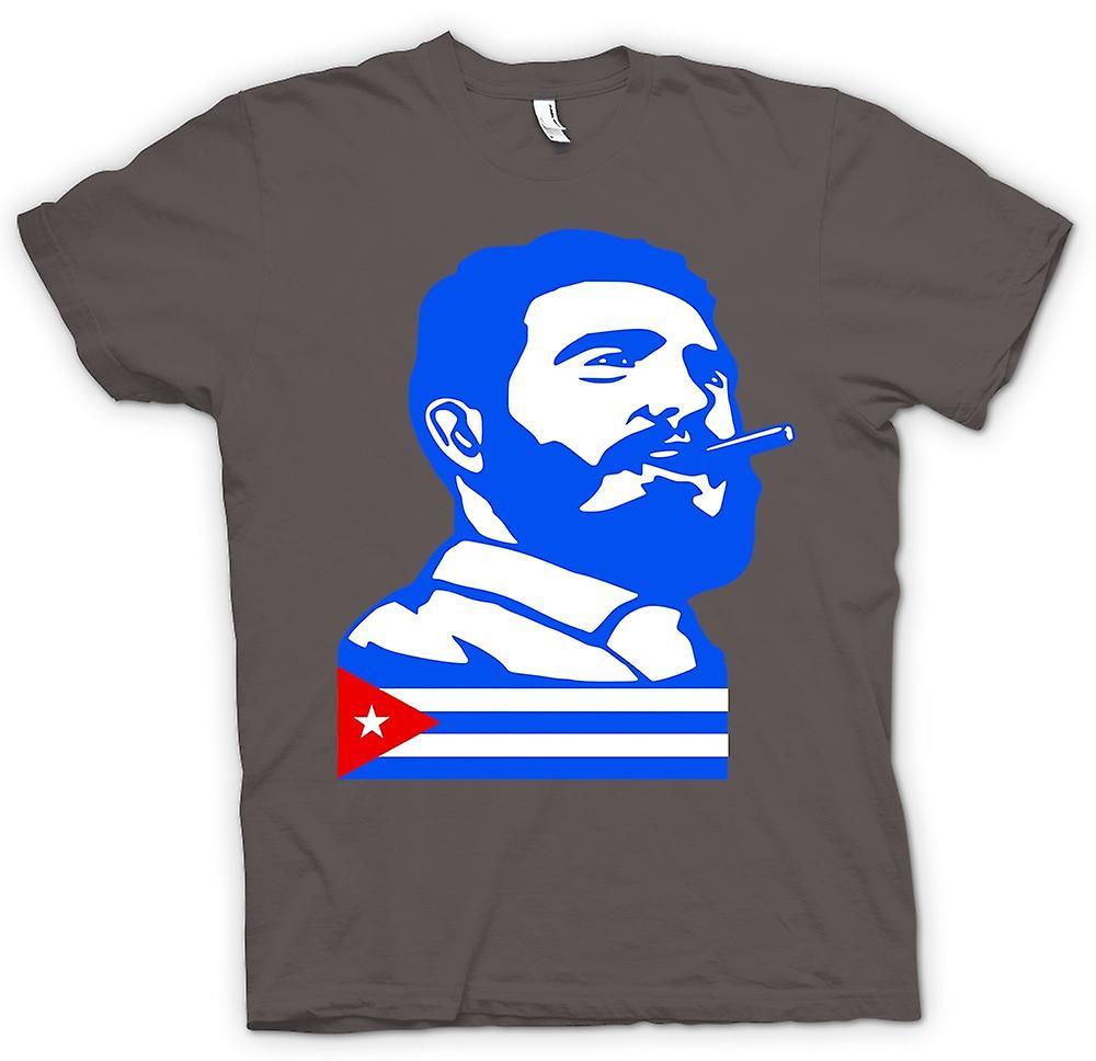 Womens T-shirt - Fidel Castro - Cuba