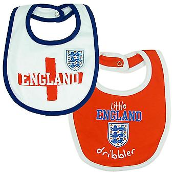 England FA Baby Bibs (Pack Of 2)