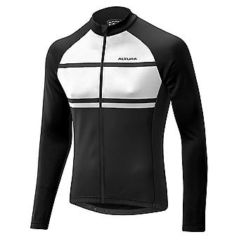 Altura White-Black 2017 Airstream Long Sleeved Cycling Jersey