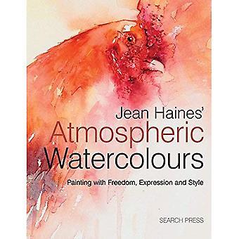 Acuarelas atmosférico de Jean Haines: Pintura con la expresión, la libertad y el estilo