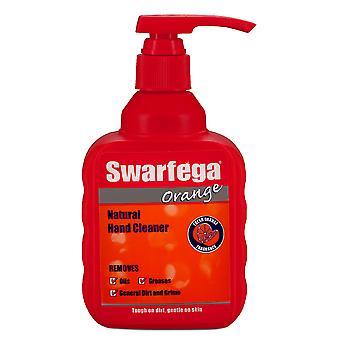 Swarfega (DEB) SOR400MP 450ml Orange Pump - Solvent Free Grease & Dirt Remover