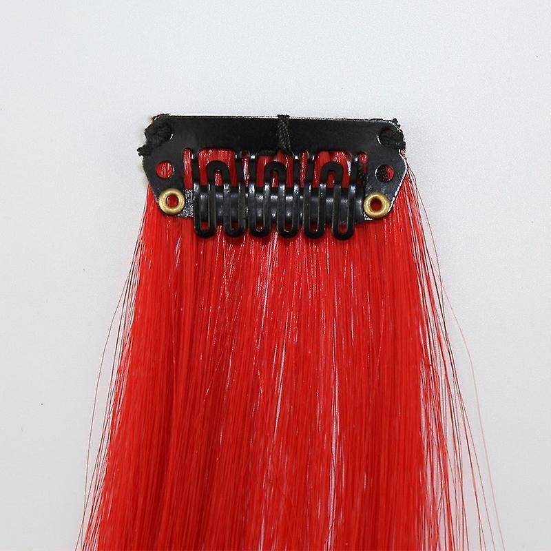1629a24e 8 syntetisk hår extensions-looper i forskjellige farger | Fruugo