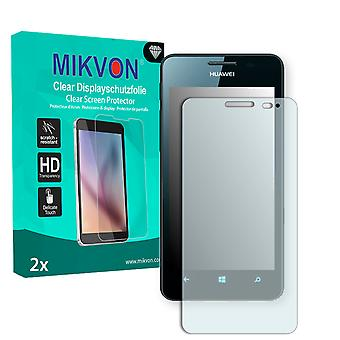 Huawei Ascend W2 Screen Protector - Mikvon Clear (Retail Package con accessori)
