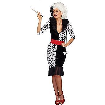 Dalmation Queen Adult Costume
