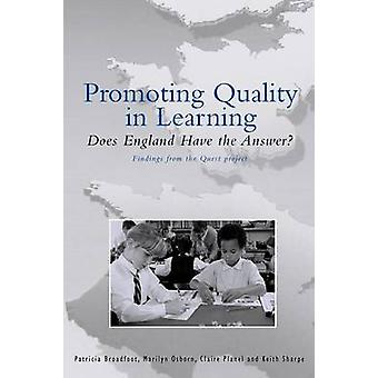 Promoting Quality in Learning by Broadfoot & Patricia