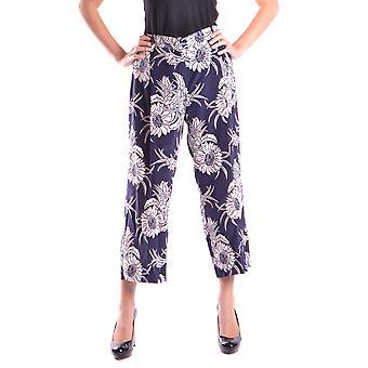 Prada Blue Silk Pants