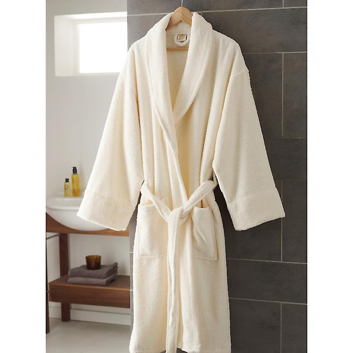 Zero-Twist Cotton Bathrobe