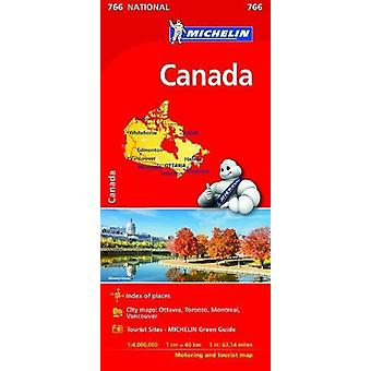Canada National Map 766 - 2017 - 9782067217119 Book