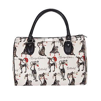 Catitude luggage travel bag by signare tapestry / trav-cude