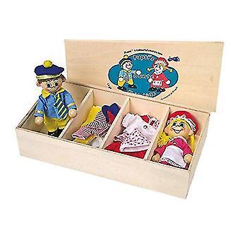Legler Pupsis Doll's Clothes Box Toy