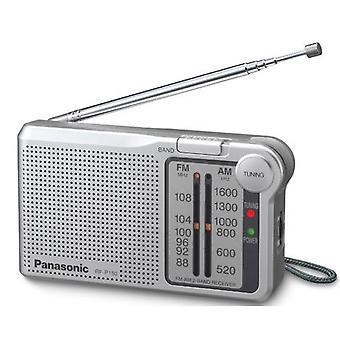 راديو باناسونيك المحمول AM/FM-فضي (نموذج رقم RFP150DEG-S)