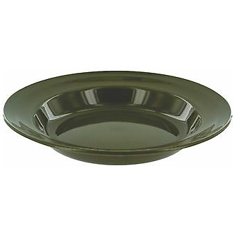 Highlander Olive 22cm Deep Plate